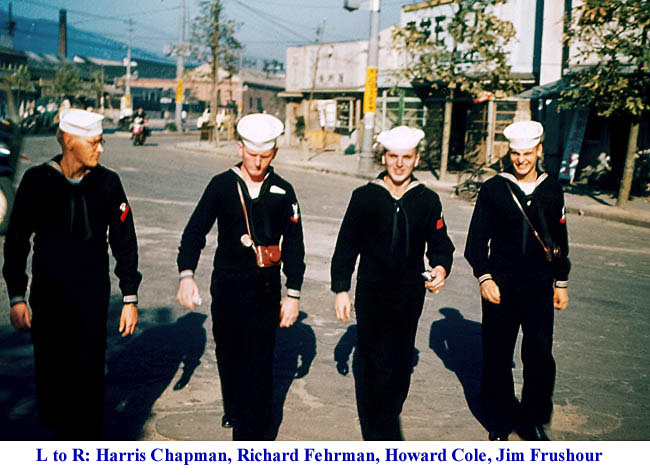 1133  L-R Harris Chapman,Richard Fehrman,Howard Cole,Jim Frushour