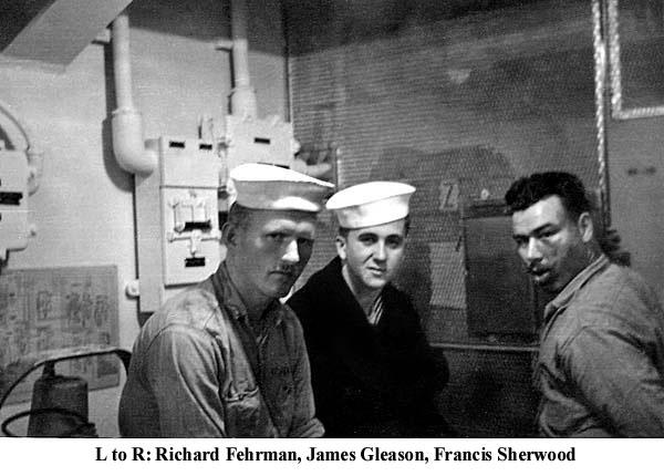 1141  L-R Richard Fehrman James Gleason Francis Sherwood