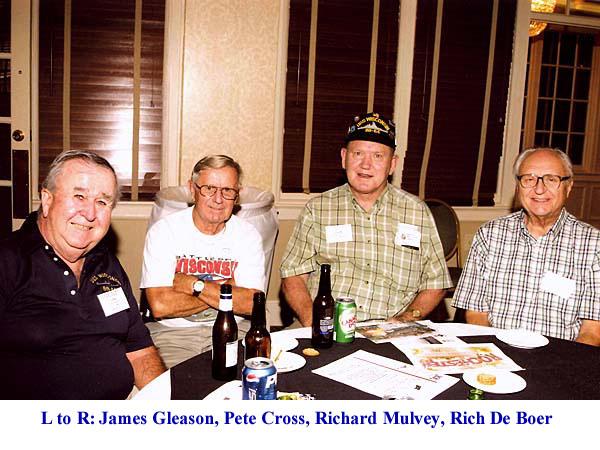 1144  L-R James Gleason Pete Cross Richard Mulvey Rich De Boer