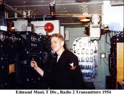 1148 Fa Edmund Maul, T Div., Radio 2 Transmitters 1954
