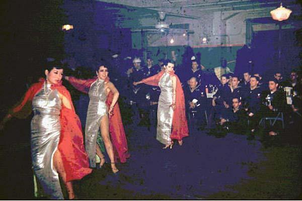 1184 Party, Enlisted Mans Club, Yokosuka. 1951