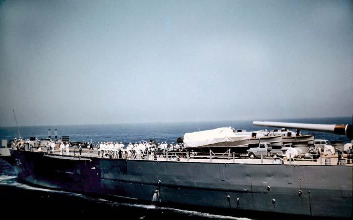 1198 Photos were taken by Karl Engel aboard USS Zellars DD-777 during refueling