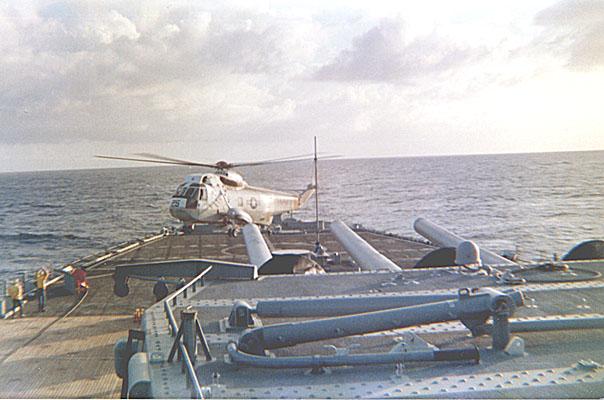 109 R. Cole   Helo landing