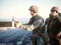 100 B.Morris Marines weapons training