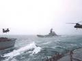 174 H. Santiago USS  Missouri BB-63 approaching