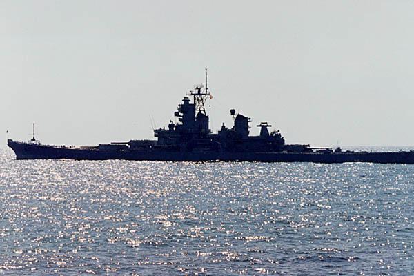 202 M. Bowers  USS Missouri BB-63
