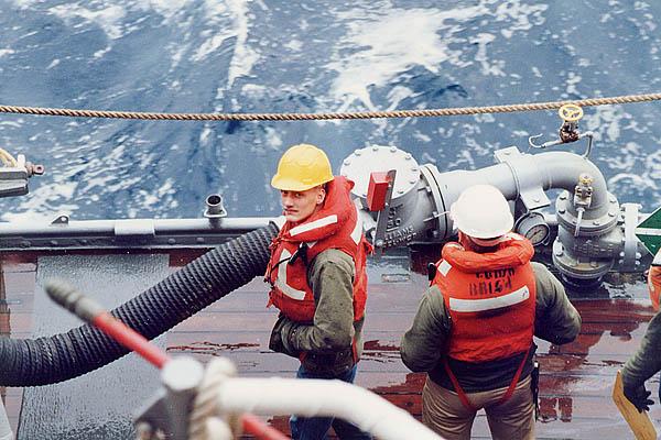 231 M. Bowers  Cargo & Fuel  USNS Kiska AE-35
