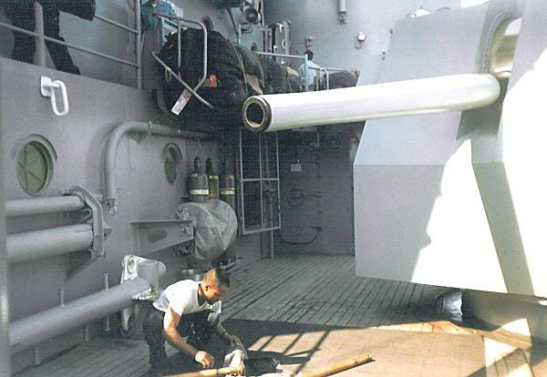 305 L.Graves Cleaning Gun Mount Barrel