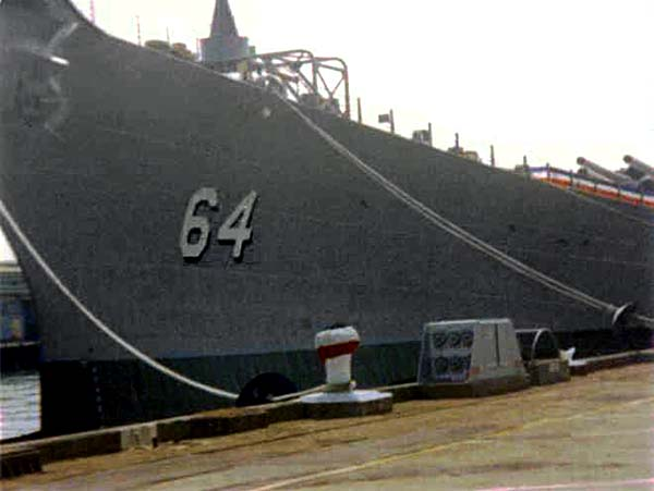 336 WISCONSIN DECOMMISSIONING DAY - SEP 01