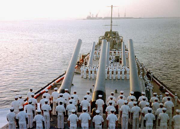 355 Change of Command 28 Sept 1990