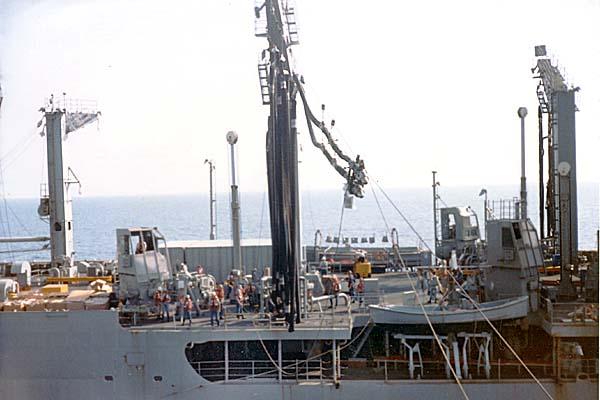 368 UNREP USS Cimmeron AO177