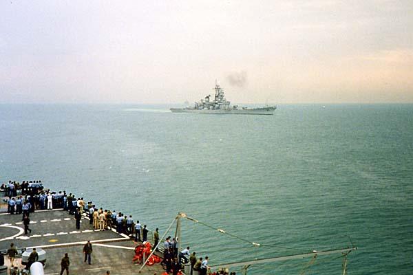 377 USS Missouri 1- 5- 91