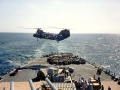 372 VertRep Helo. from USNS Spica