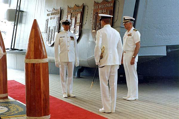 601 Change of Command 27 April 1991 Capt Bill to Capt