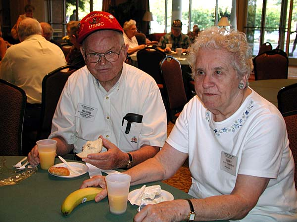 097 Time for Breakfast Isadore & Mary Staskiewicz