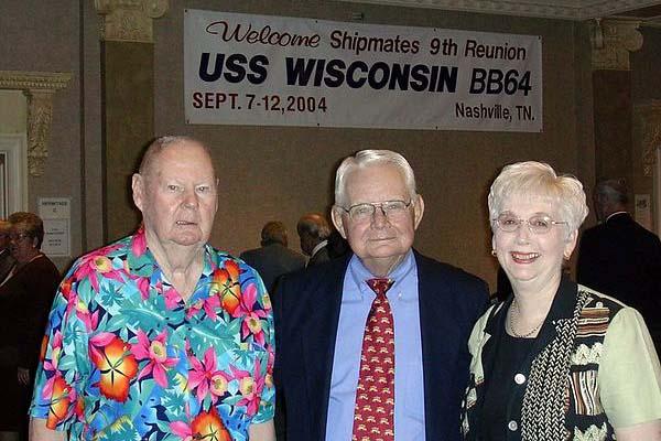 115 L to R ,Clemons, Joe & Judy Determan