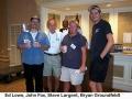 112a Ed Lowe, John Fox, Steve Largent, Bryan Grondfeldt