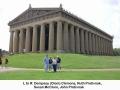 123a Parthenon in Centenial Park Clem, Ruth, Susan & John