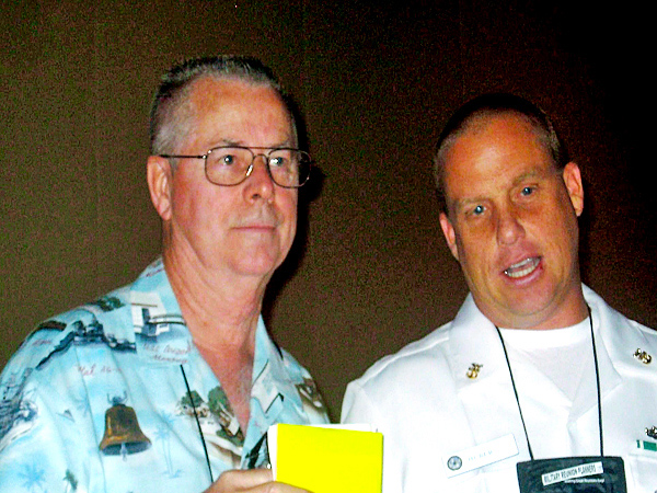 156 Mike Rigdon & nephew Jack Huber