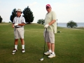 176 Fred Genet and Craig Bittle on the golf course.