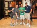 232 Ed Lowe, Steve, Rick Blacker, Tom