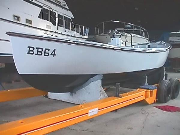 008 BB-64 Whaleboat 26MW8550 After refurbishing