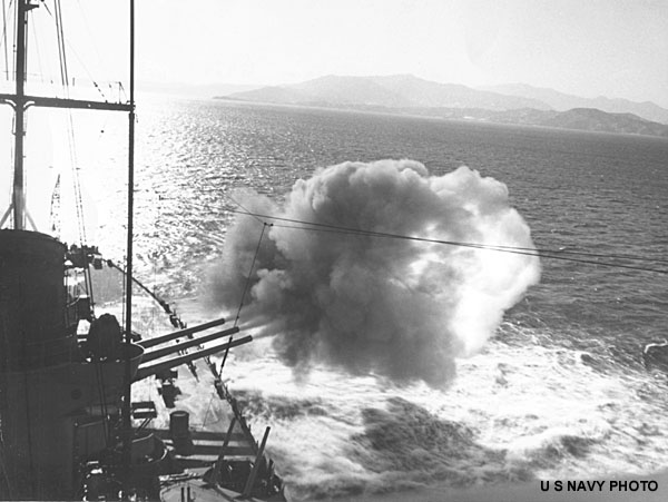 019 BB-64 off Korea 1951