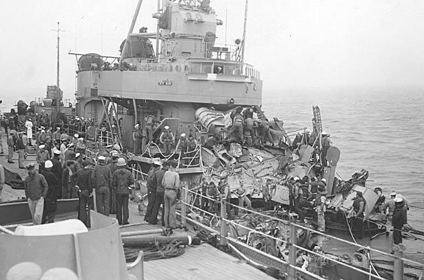 C 03 USS Eaton DDE-510 Collision.JPG