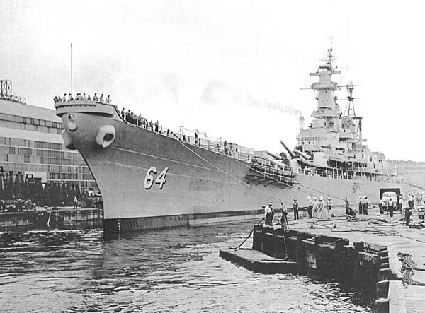C 27 USS Wisconsin BB-64 With New Bow.JPG