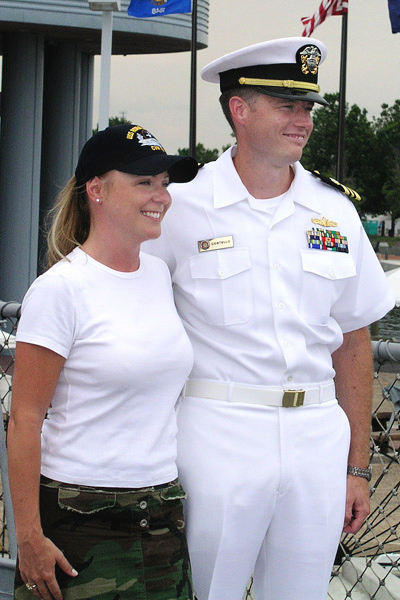 046 Kerri Turner & JAG Officer, LCDR Costello