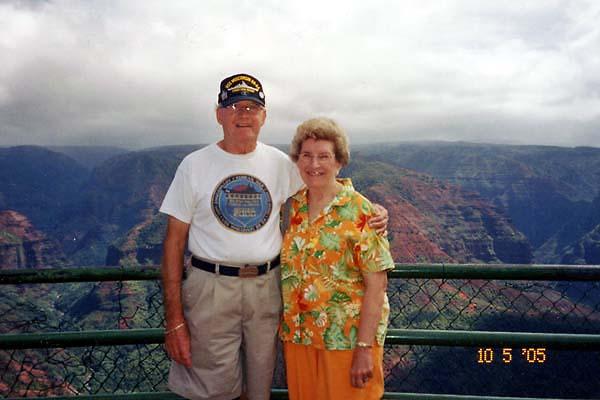 165 Frank & Joan At Waimea Canyon.