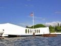 177 Arizona Memorial from motor launch