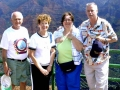 182 John, Ruth, Susan, and Mike at Waimea Canyon