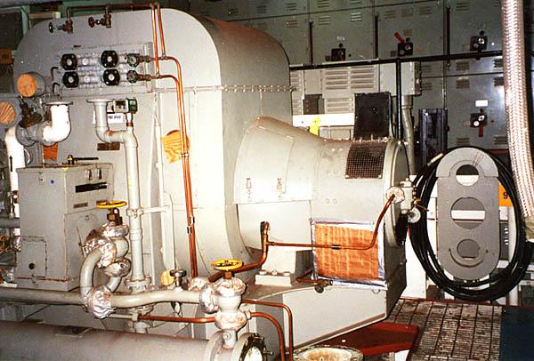 032 F. Moore  Engin Room  generator