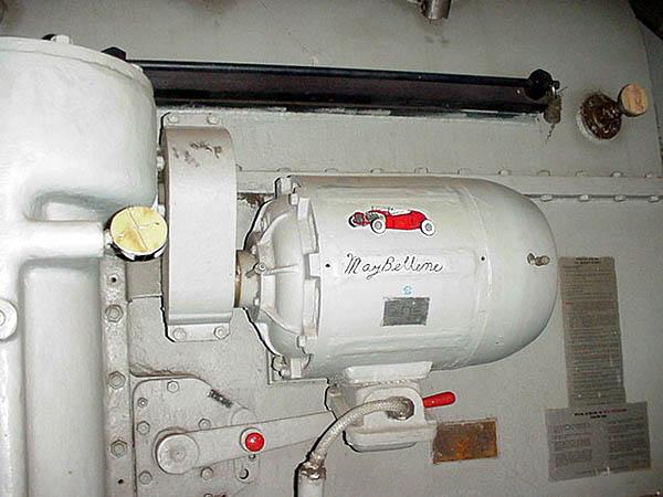 051 T. Dandes Main engine Mabeline
