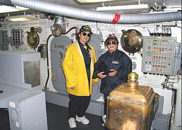 052 P4210704 T.Lowney Inside Turret 1