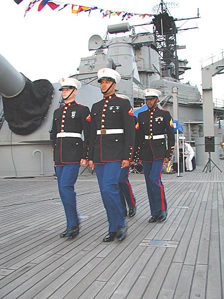 058 T.Lowney Marine Color Guard