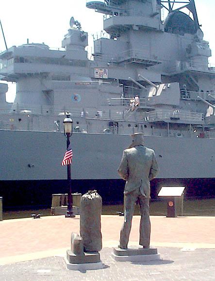 060 A. Hilliard Lone Sailor (rear view