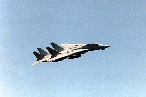 123 015 F14 Tomcats flyby
