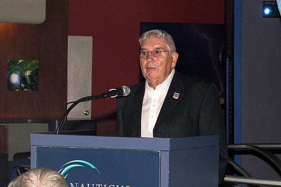 202a Bill Henson, President, USS Wisconsin Association
