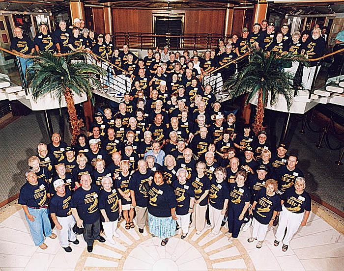 120 Cruise Group Photo
