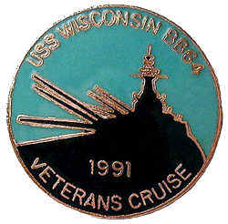 Patch 2bvets cruise pin1991 2.5x2.457 100res